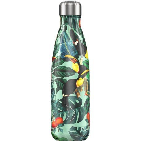 BOUTEILLE ISOTHERME TOUCANS CHILLY'S 500 ML