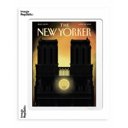 AFFICHE THE NEW YORKER OUR LADY