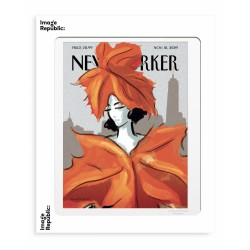 AFFICHE THE NEW YORKER DRESSED FOR FALL