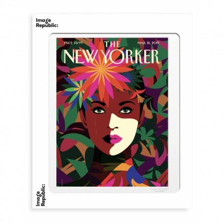 AFFICHE THE NEW YORKER SPRING TO MIND