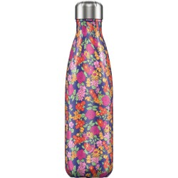 BOUTEILLE ISOTHERME FLEURS CHILLY'S 500 ML