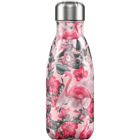 BOUTEILLE ISOTHERME FLAMANTS ROSES CHILLY'S 260 ML