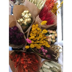 BOTTE DE FLEURS SECHEES (exclusivement en magasin)